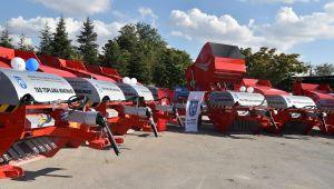 Ankara Çiftçisine Makina ve Ekipman Desteği