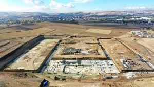 Ankara Uluslararası Fuar ve Kongre Merkezi İnşaatında Çalışmaları Hızlandı