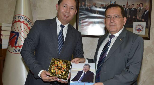 Özbekistan'ın Ankara Büyükelçiliği Müsteşarı Yıgıtalıev, 'Ekonomik İlişkilerim Artıyor'