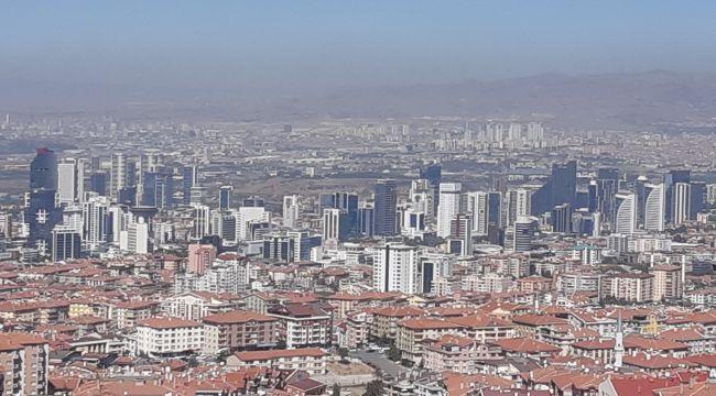 Ankara'da Konut Fiyatları Yüzde 1,36 Oranında Düştü