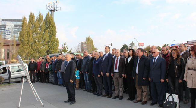 Ankaralı Sanayiciler Ulu Önder Atatürk'ü Andı