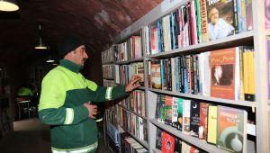 Çöpten Kurtarılan Kitaplardan, Kütüphane Kuruldu