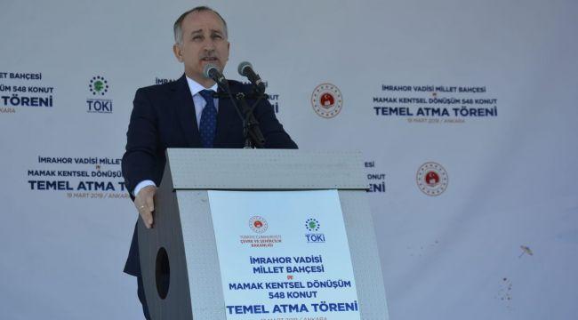 Ankara'da Alt ve Orta Gelir Gurubuna Yönelik 3 Bin Konut Yapılacak