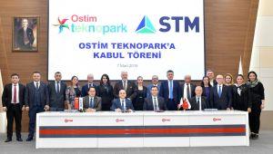 Dünyanın Sayılı Savunma Firmalarından STM, Ostim Teknopark'ta