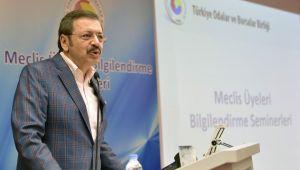 Hisarcıklıoğlu; 'Ekonomideki Sıkıntıları Hükümete Aktardık'