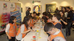 Küçük Sanatçılar Artankara'da Hünerlerini Sergiledi