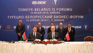 Ankara ve Belarus Arasında Ticari İşbirliği