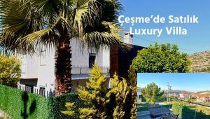 Çeşme'de Satılık Deniz Manzaralı Luxury Villa