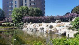 Park Oran doğa manzaralı 4+1 lüks eşyalı rezidans