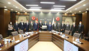 ATO inşaat sektörünün sorunlarını Bakan Elvan'a iletti