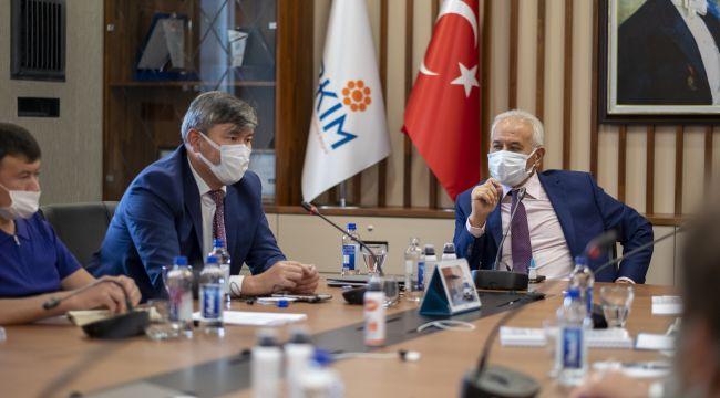 Gebkim osb, Ankara Kazakistan heyetini ağırladı
