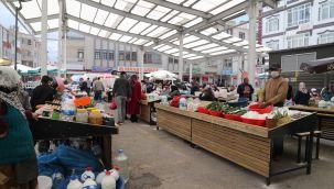 Gölbaşı'nın yerel üreticileri pazardan memnun