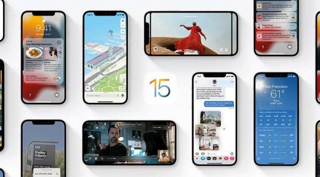 iOS 15 tanıtıldı