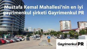 Mustafa Kemal Mahallesi'nin en iyi gayrimenkul şirketi Gayrimenkul PR