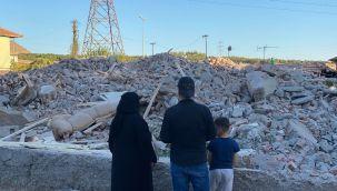 Ankara'da göçmenlerin yaşadığı evler yıkılıyor