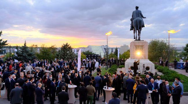Ankara iş dünyası ve büyükelçiler bir araya geldi