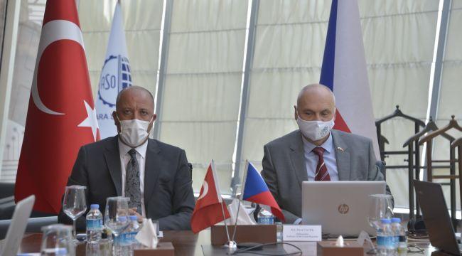 Ankara'nın ihracattaki başarıları Çekya'ya ilham oluyor