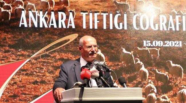 "ATO, ""Ankara Tiftiği""ne coğrafi işaret tescili aldı"