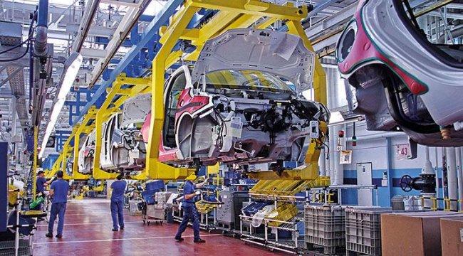 Otomotivden ağustosta 2.4 milyar dolarlık ihracat