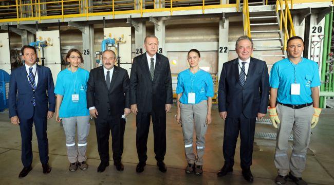 Şişecam Ankara fabrikası ikinci fırınının açılışı gerçekleşti