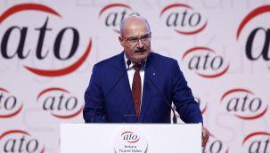 ATO'dan Ankara'nın başkent oluşunun 98'inci yıl dönümü mesajı
