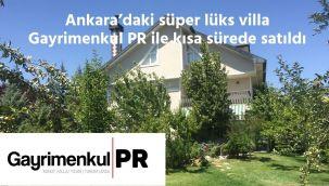 İnce'deki süper lüks villa Gayrimenkul PR yöntemiyle kısa sürede satıldı