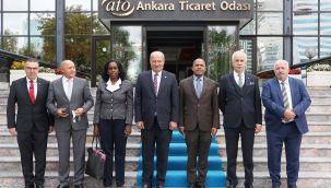 Küba Büyükelçisi'nden ATO üyelerine yatırım ve işbirliği daveti